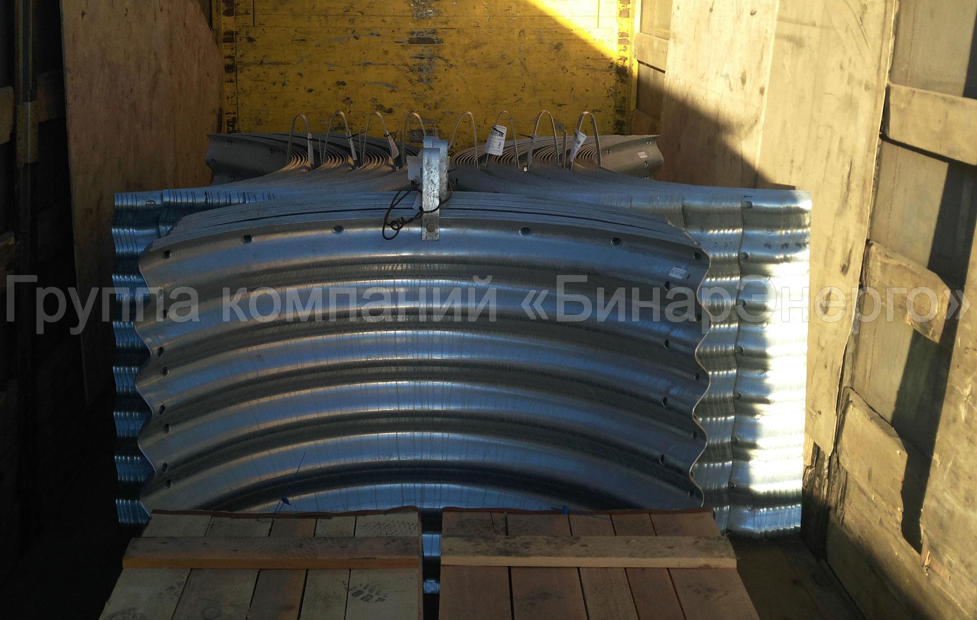 Гофрированные водопропускные трубы ЛМГ