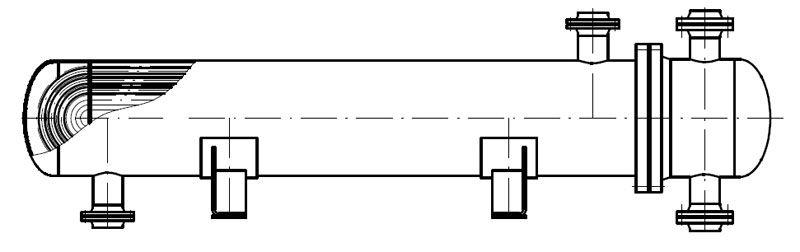Теплообменник с U-образными